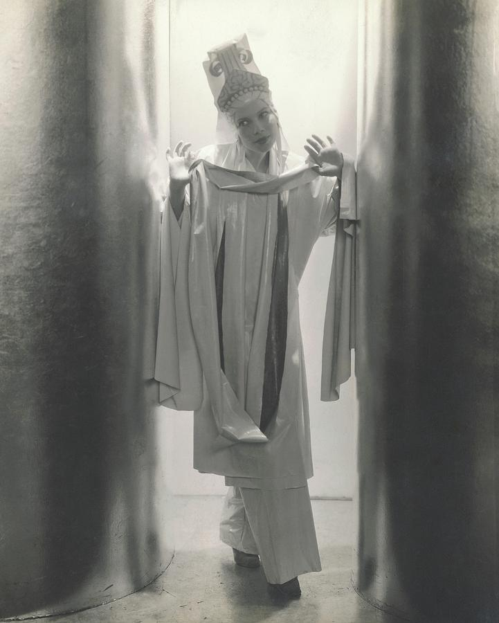 Tilly Losch In Wake Up And Dream Photograph by Edward Steichen