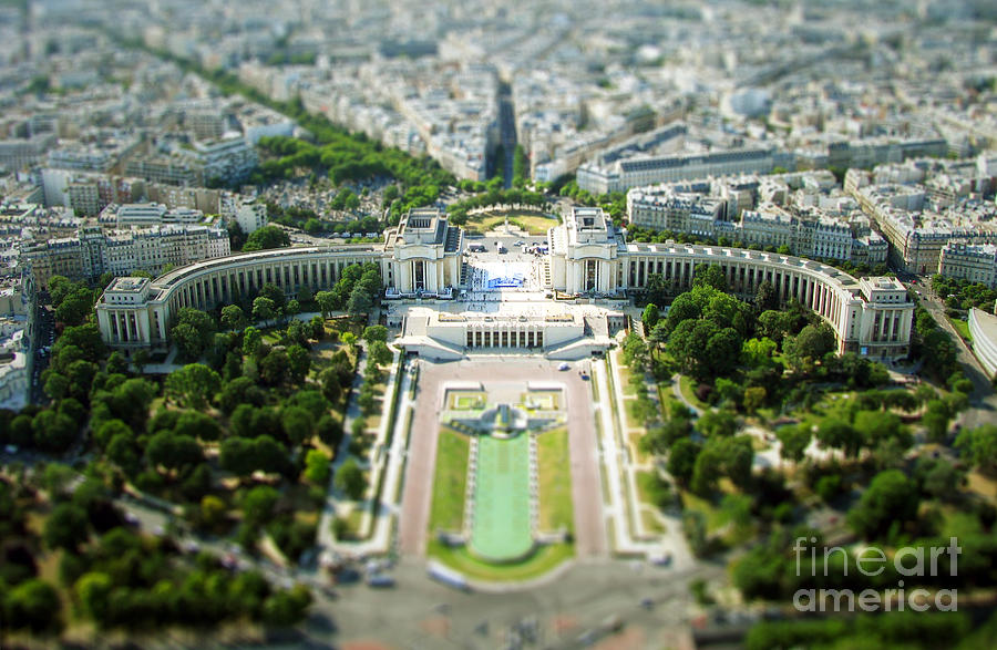 Paris Photograph - Tilted Reality by Andrew Paranavitana