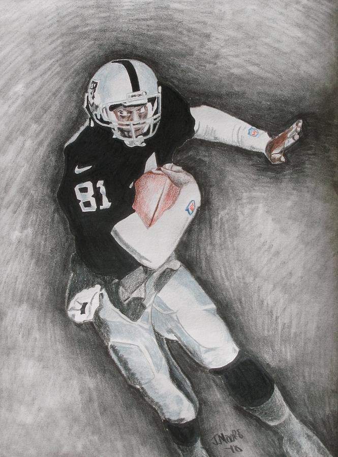 Tim Brown Drawing by Jeremy Moore