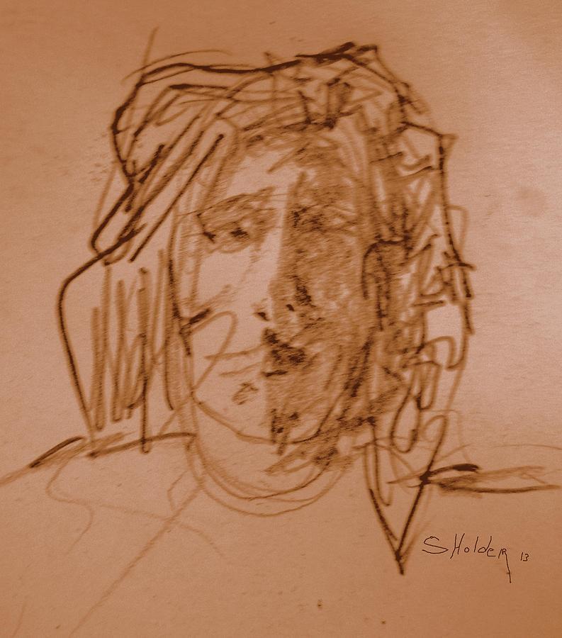 Portraits Digital Art - Tim by Steven Holder