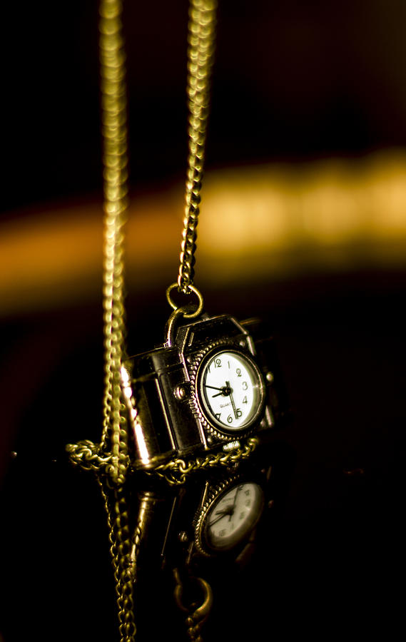 Clock Photograph - Time by Amr Miqdadi