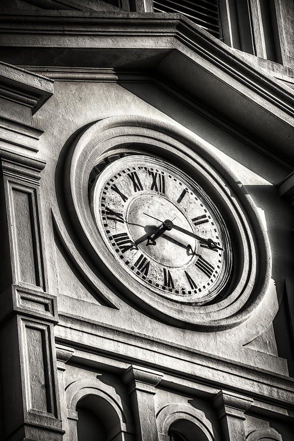 Jackson Square Photograph - Time by Brenda Bryant