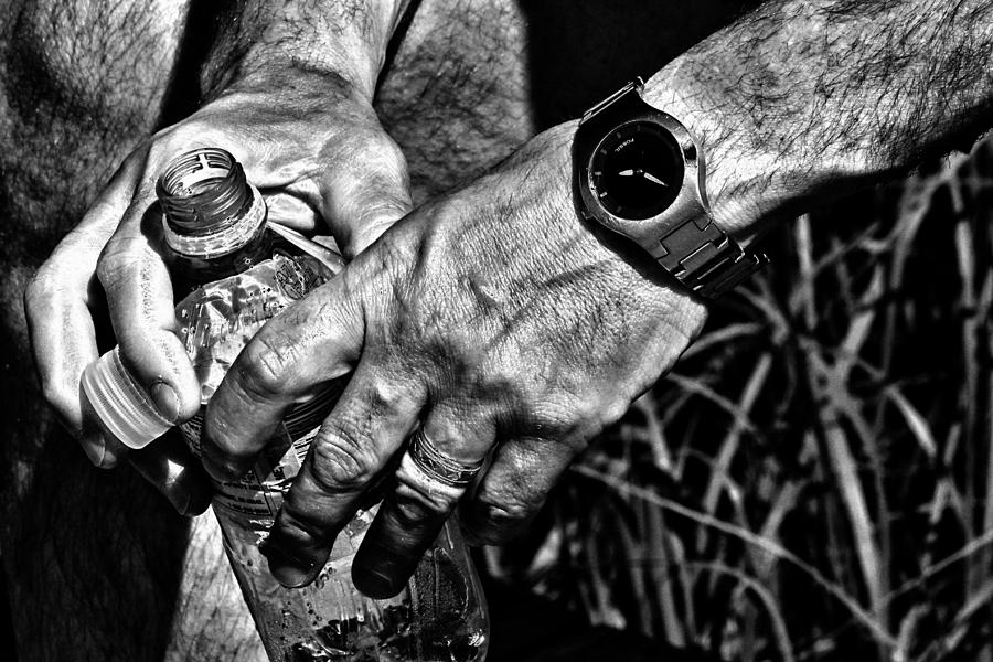 Hands Photograph - Time For A Break by Karol Livote