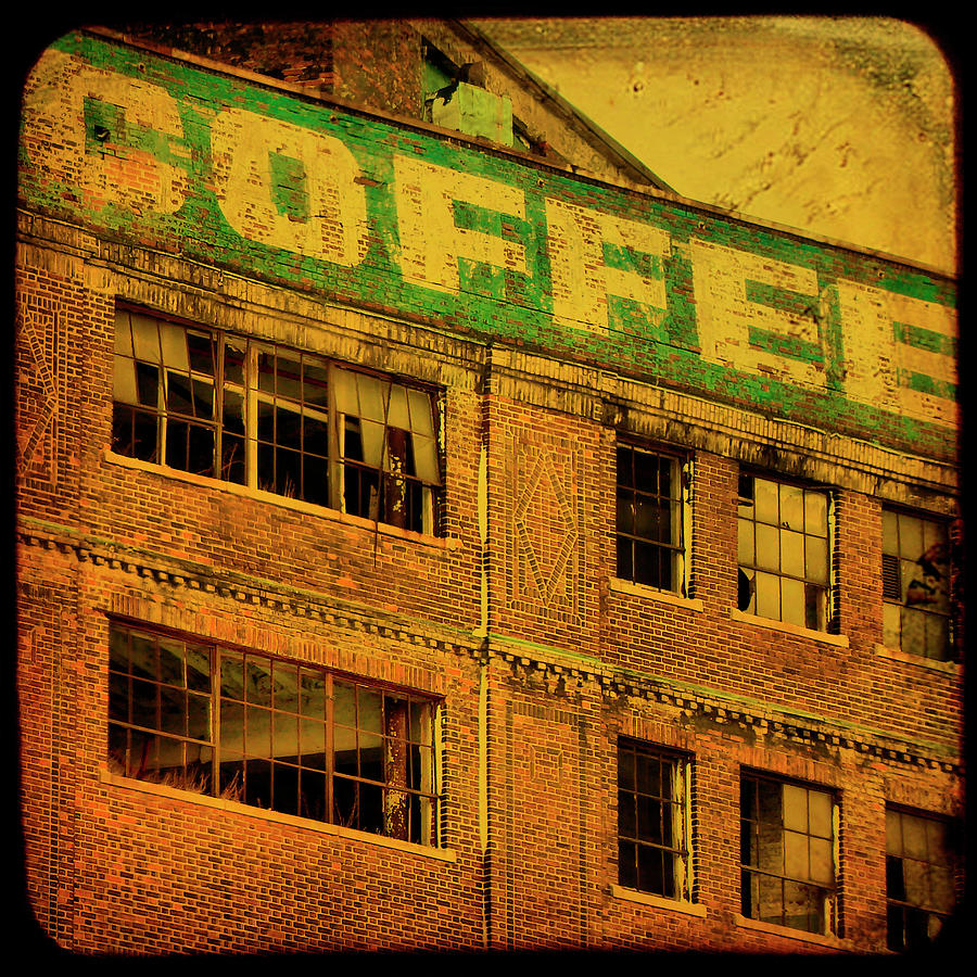 Urban Photograph - Time For Coffee by Gothicrow Images
