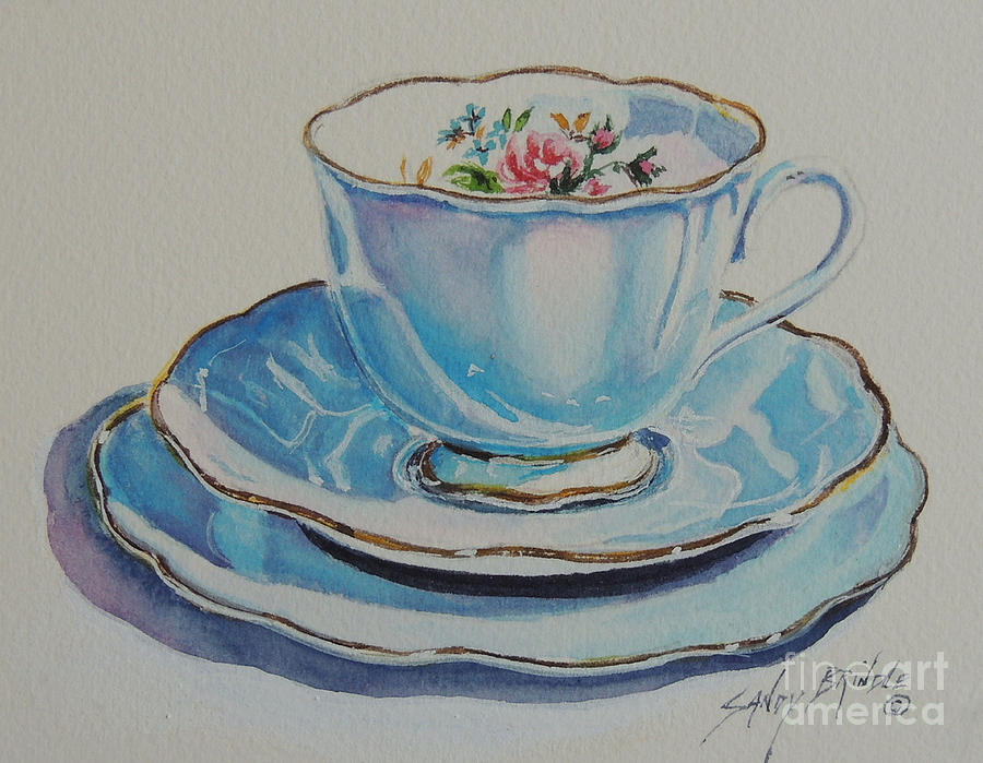 Time for Tea SOLD by Sandy Brindle