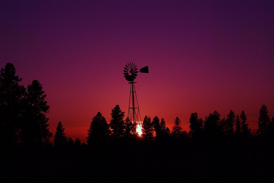 Rural Scenes Photograph - Time Gone By  by Jeff Swan