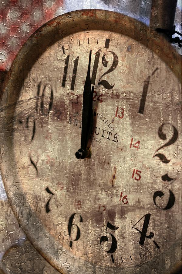 Time Photograph - Time Moves by Michael Hope