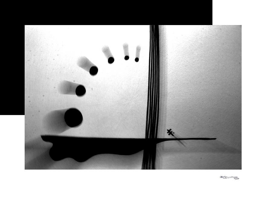 Time Digital Art - Time On A String by Xoanxo Cespon