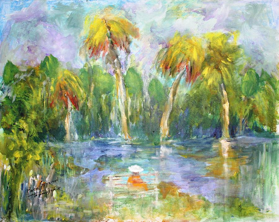 Waterview Painting - Time Out by Mary Spyridon Thompson