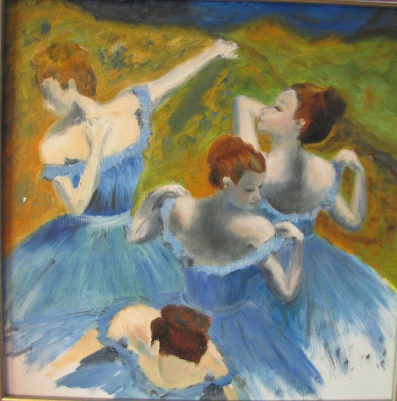 Ballet Painting - Time to Dance by Jenell Richards