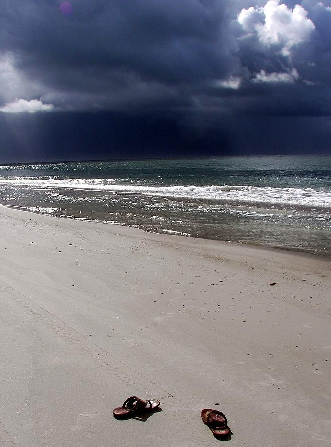 Topsail Island Photograph - Time To Go by Karen Wiles