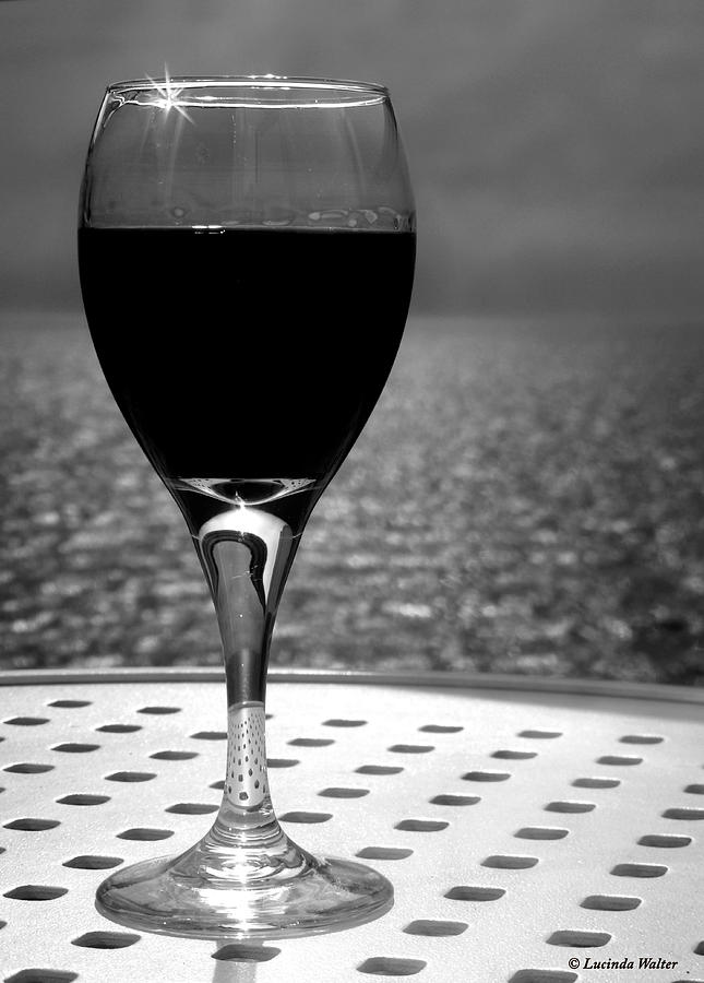 Wine Photograph - Time To Relax by Lucinda Walter