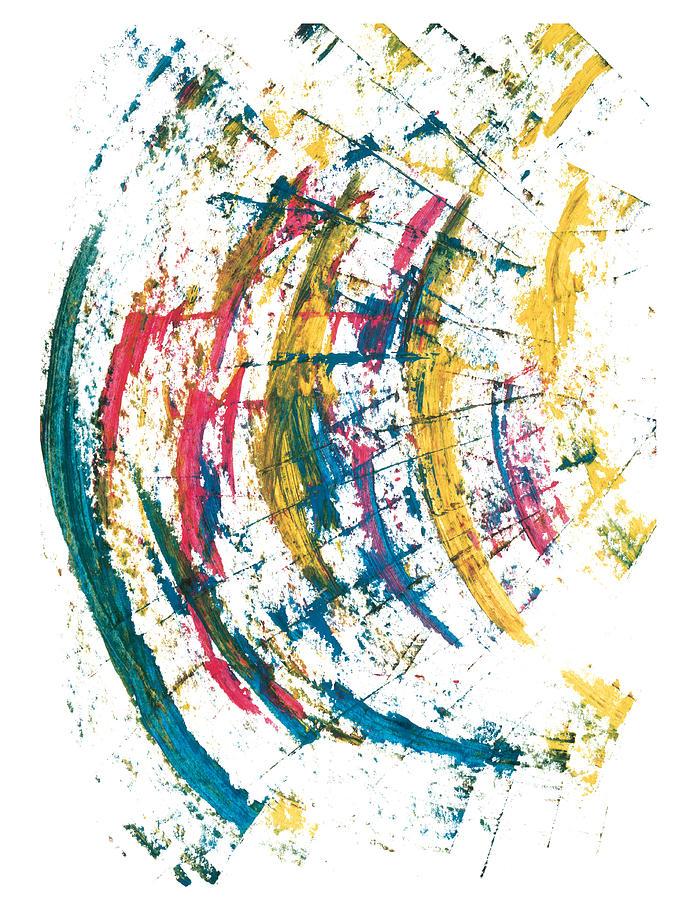 Contemporary Painting - Time Travel by Bjorn Sjogren