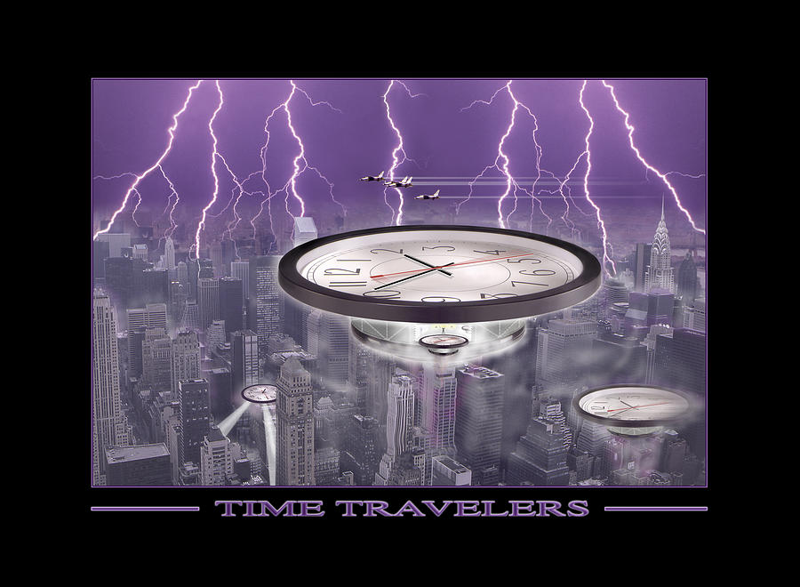 Cityscape Photograph - Time Travelers by Mike McGlothlen