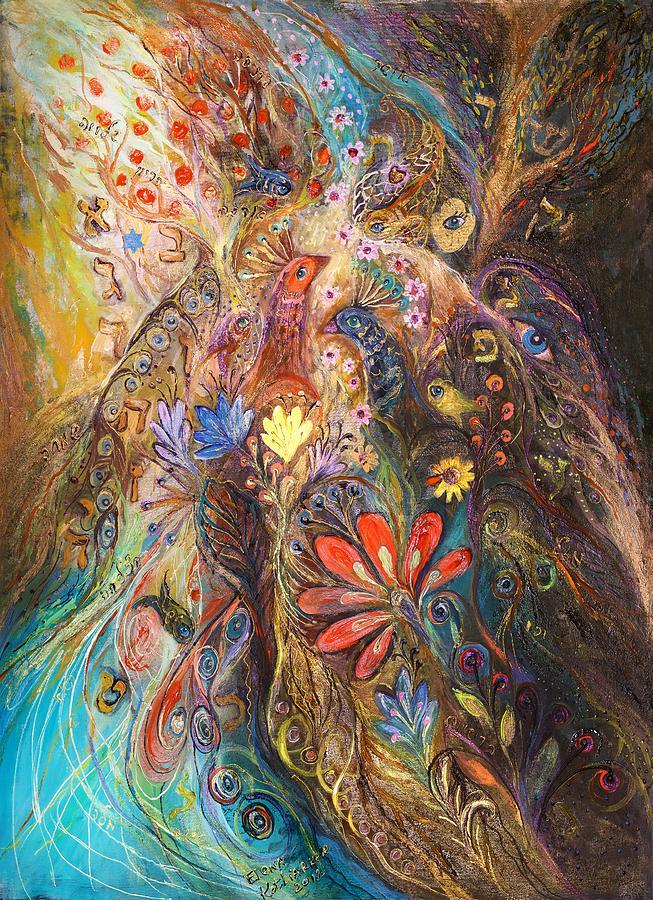 Judaica Painting - Timeless Characters II by Elena Kotliarker