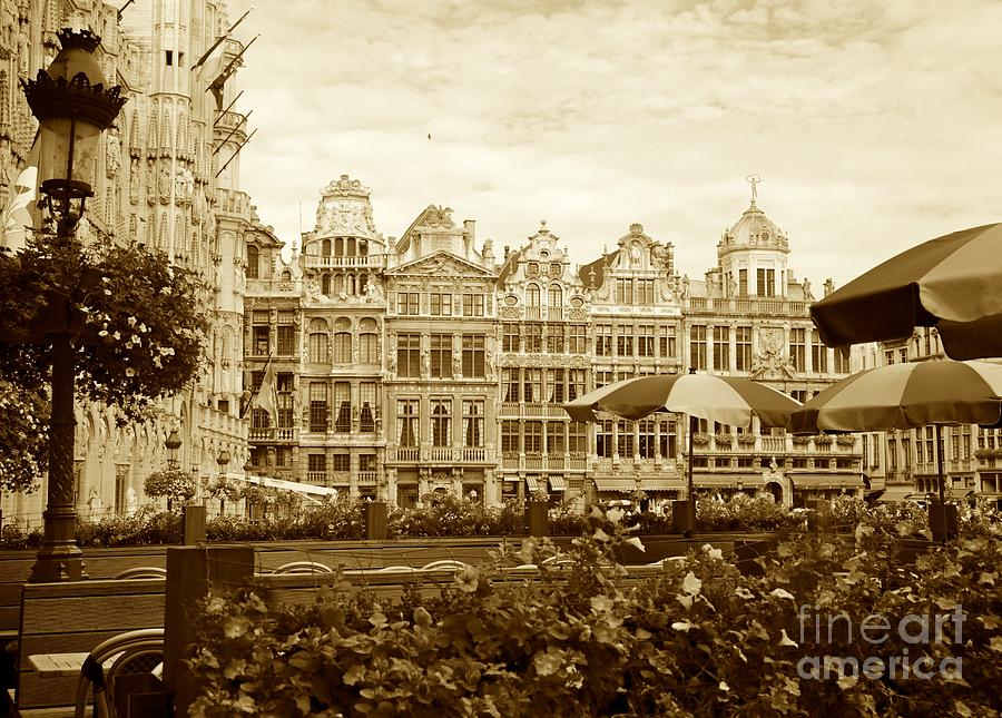 Brussels Photograph - Timeless Grand Place by Carol Groenen