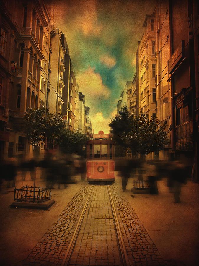 Street Photograph - Timepiece by Taylan Apukovska
