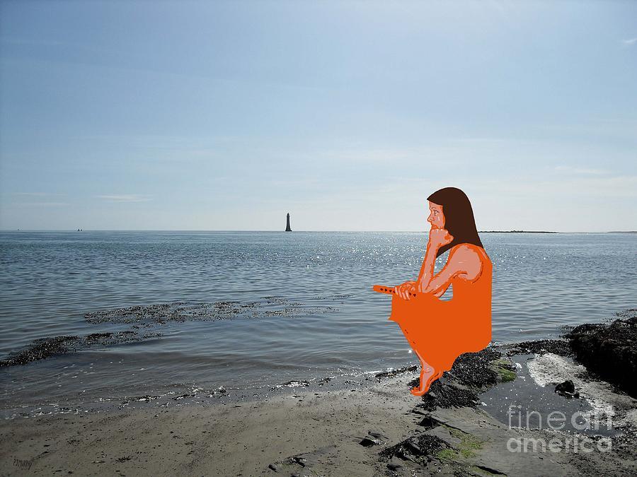 Shore Photograph - Tin Whistle 3 by Patrick J Murphy