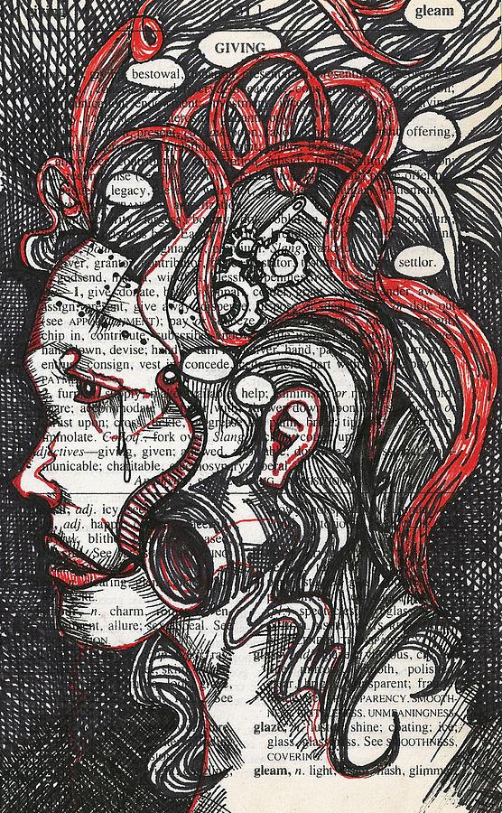 Steampunk Mixed Media - Tin Woman by Stacey Pilkington-Smith