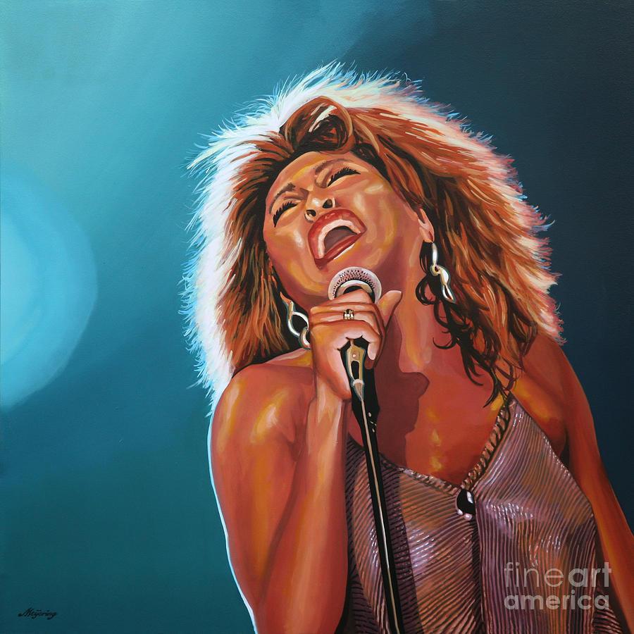 Tina Turner Painting - Tina Turner 3 by Paul Meijering