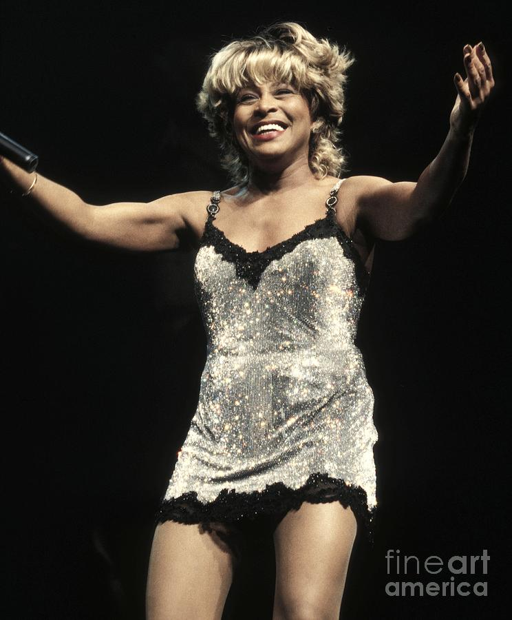 Rock 'n' Roll Photograph - Tina Turner by Concert Photos