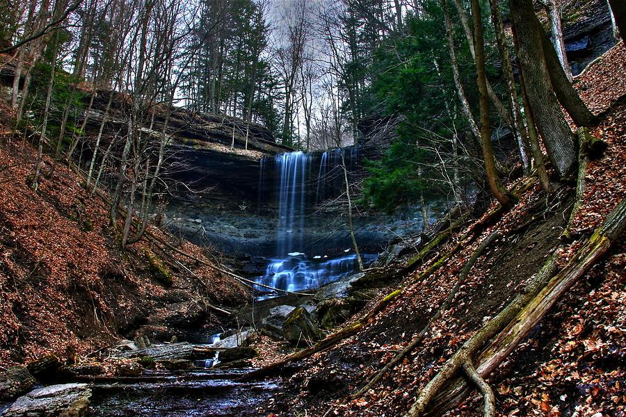 Waterfalls Photograph - Tinker Falls by Steve Ratliff