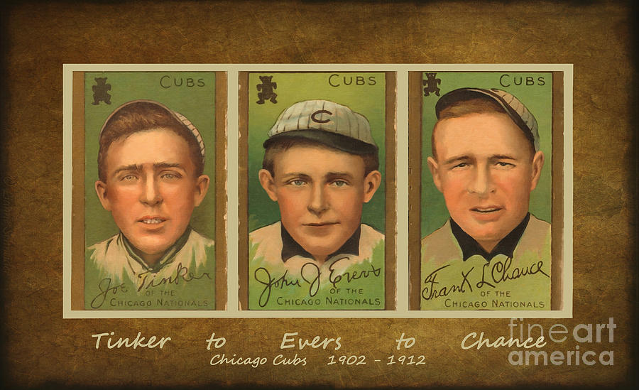 Tinker To Evers To Chance Digital Art