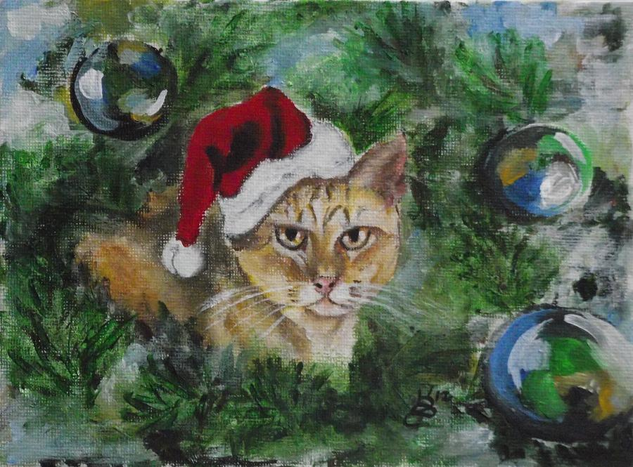 Acrylic Painting - Tinkers Christmas by Kim Selig