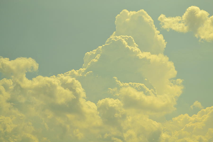 Cloud Photograph - Tinted Cloud by Kiros Berhane