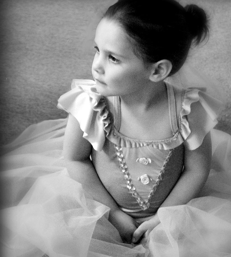 Black And White Photograph - Tiny Dancer by Stephanie Grooms