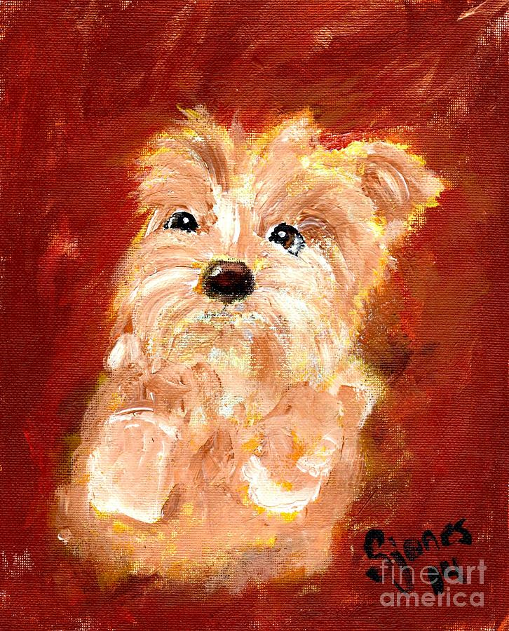 Tiny Terrier by Shelley Jones