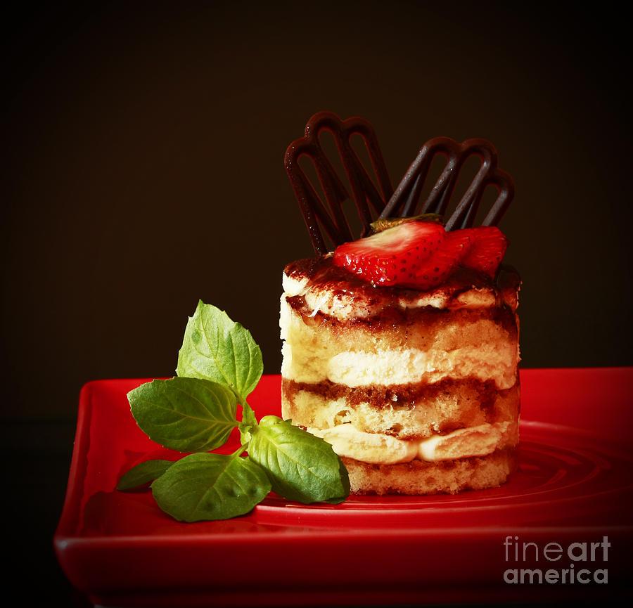 Dessert Photograph - Tiramisu Dessert Passion by Inspired Nature Photography Fine Art Photography