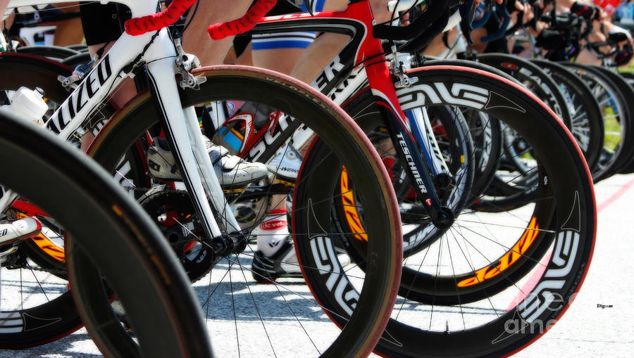 Cycling Photograph - Tire Kingdom by Steven Digman