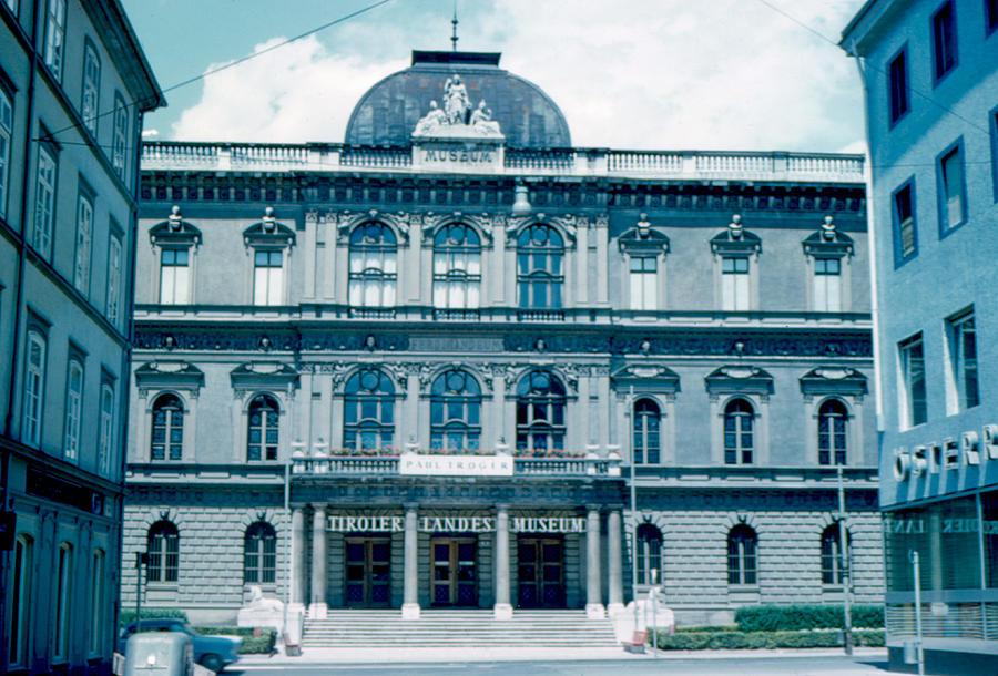 Innsbruck Photograph - Tiroler Landes Museum 1962 by Cumberland Warden