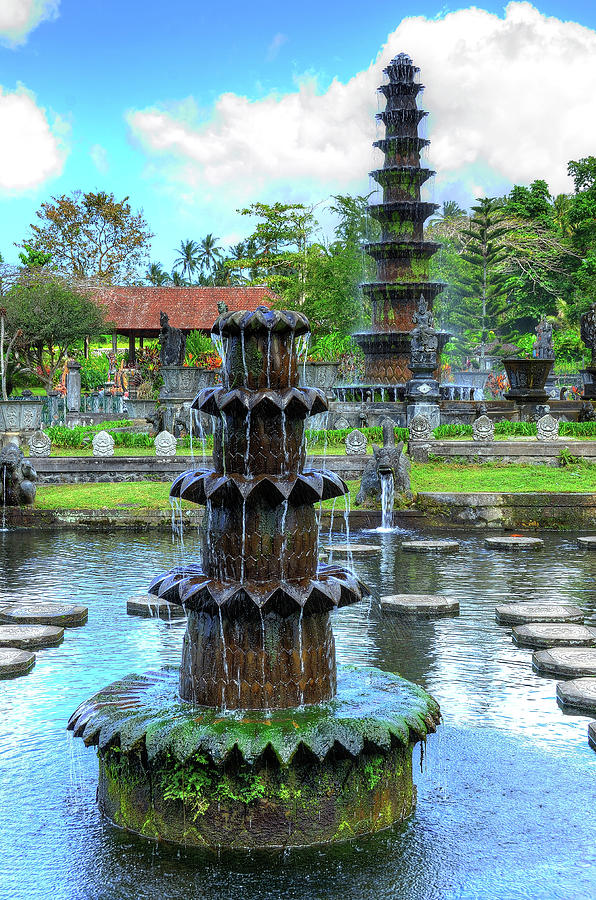 Tirta Empul Water Palace, Bali Photograph by Aaron Geddes Photography