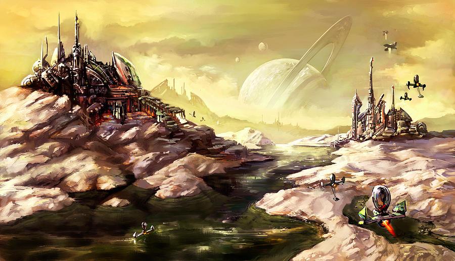 Titan Mixed Media - Titan by Odysseas Stamoglou