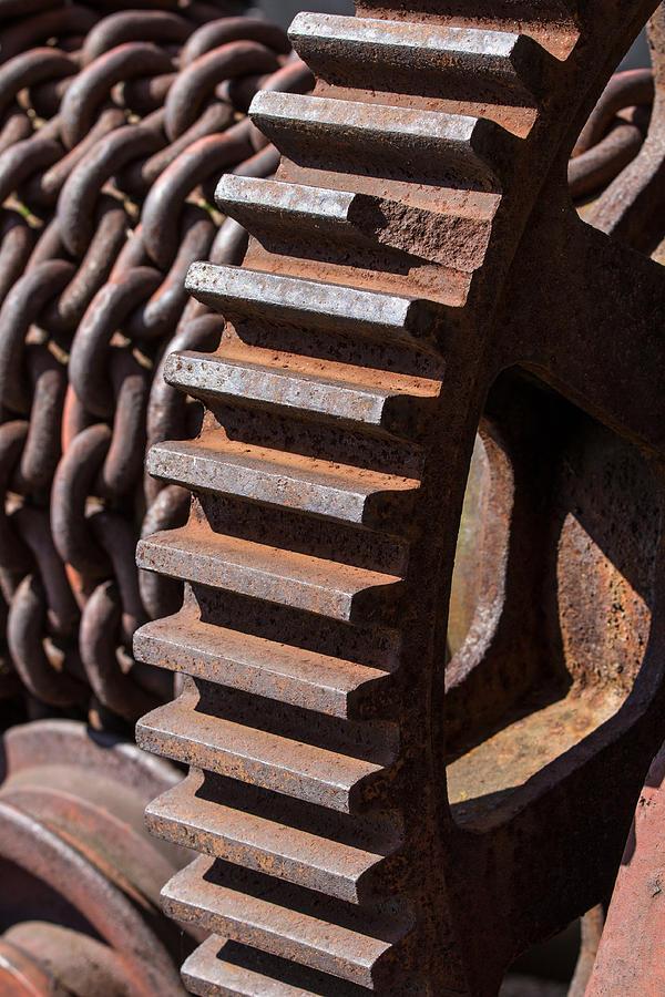Rust Photograph - Titan Teeth by Joshua Ball
