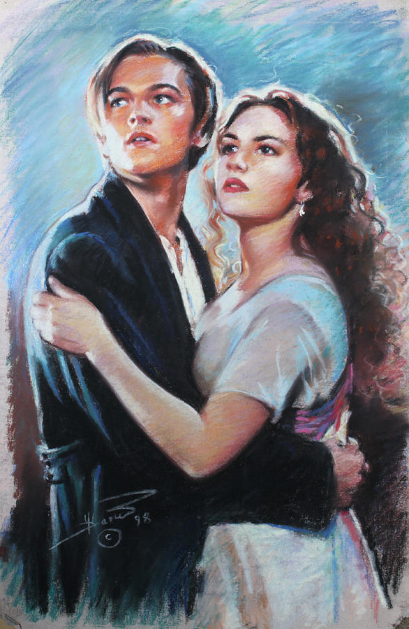 Titanic Jack And Rose Drawing By Viola El