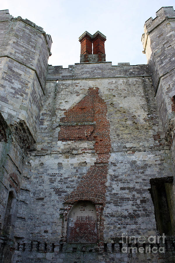Titchfield Abbey Photograph - Titchfield Abbey From Within by Terri Waters