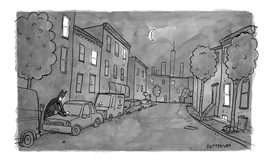Title: Slow Night Drawing by Jason Patterson
