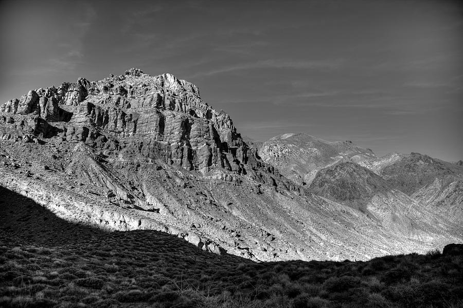 Titus Canyon Photograph - Titus Canyon Peak by Peter Tellone