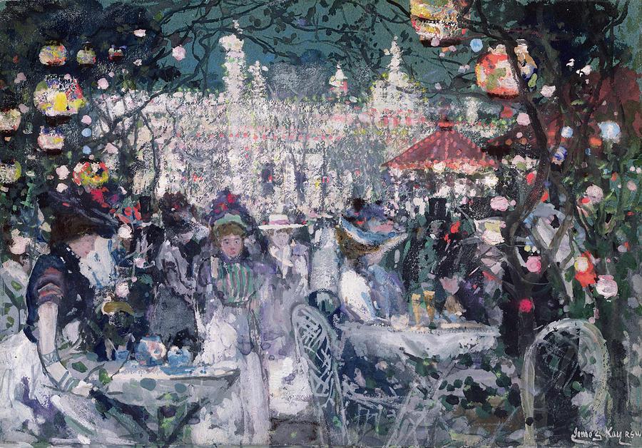 Century Painting - Tivoli Gardens by James Kay
