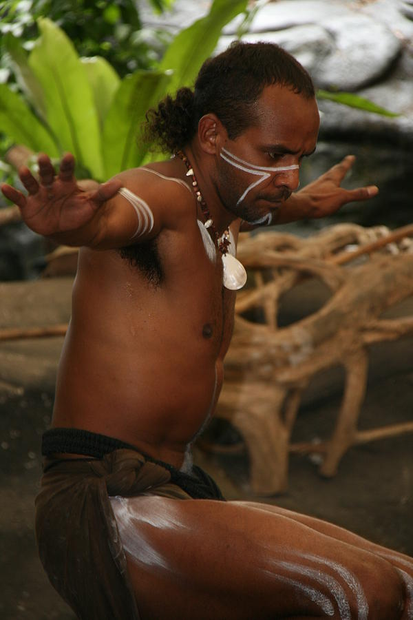 Cairns Photograph - Tjapukai Dance  by Cecelia Helwig