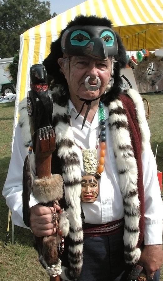 Tlingit Photograph - Tlinkit Northwest American Indians by Bill Marder