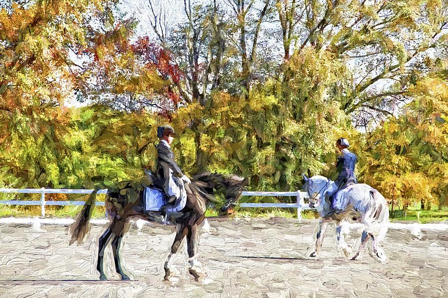 Horses Photograph - To A Halt by Alice Gipson