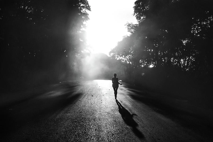 Run Photograph - To Escape by Andrey Yanko