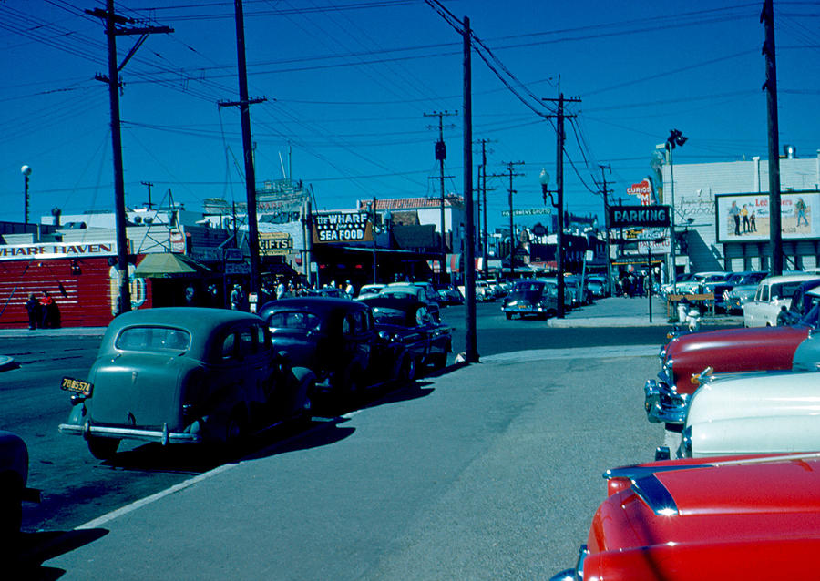 Fisherman's Wharf Photograph - To Fishermans Wharf 1955 by Cumberland Warden