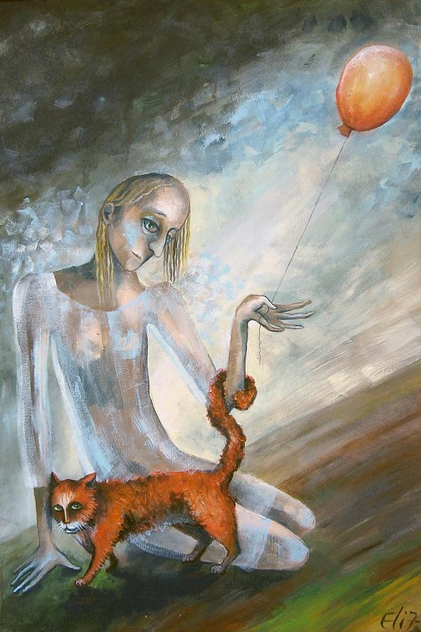 Hope Painting - To Hold On The Ground by Elisheva Nesis