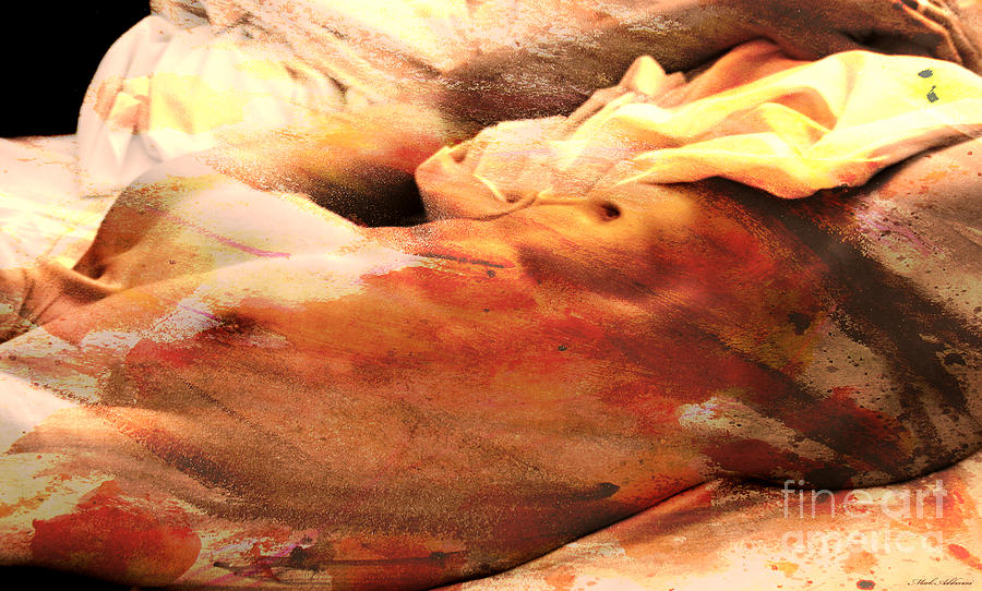 Watercolor Paintings Painting - To Improve The Reality by Mark Ashkenazi