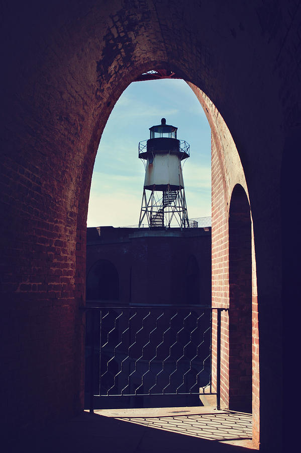Fort Point Photograph - To Light The Way by Laurie Search